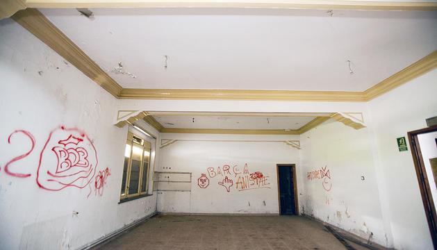 L'interior de l'hotel Casamanya.