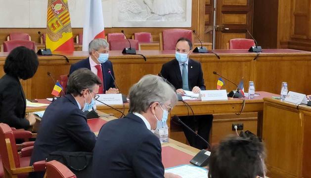 Es faran diverses reunions sobre les diferents cooperacions existents entre ambdós territoris