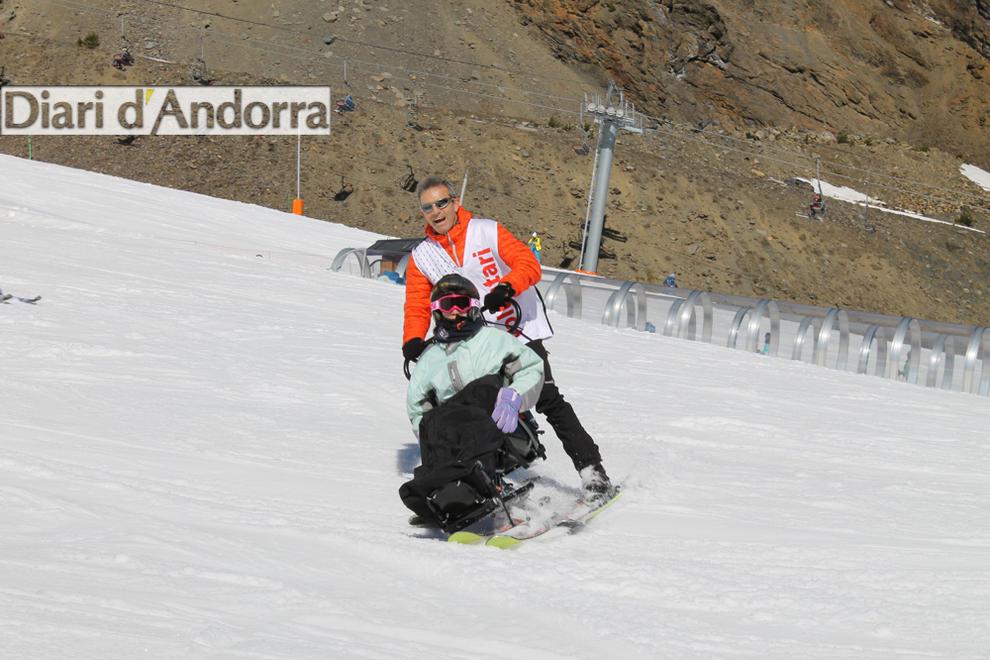 Diumenge 19 de març l'entitat va fer la darrera sortida, on va acostar, un cop més, l'esquí a persones amb alguna discapacitat.