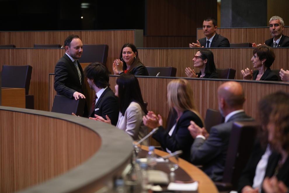 Xavier Espot elegit cap de Govern